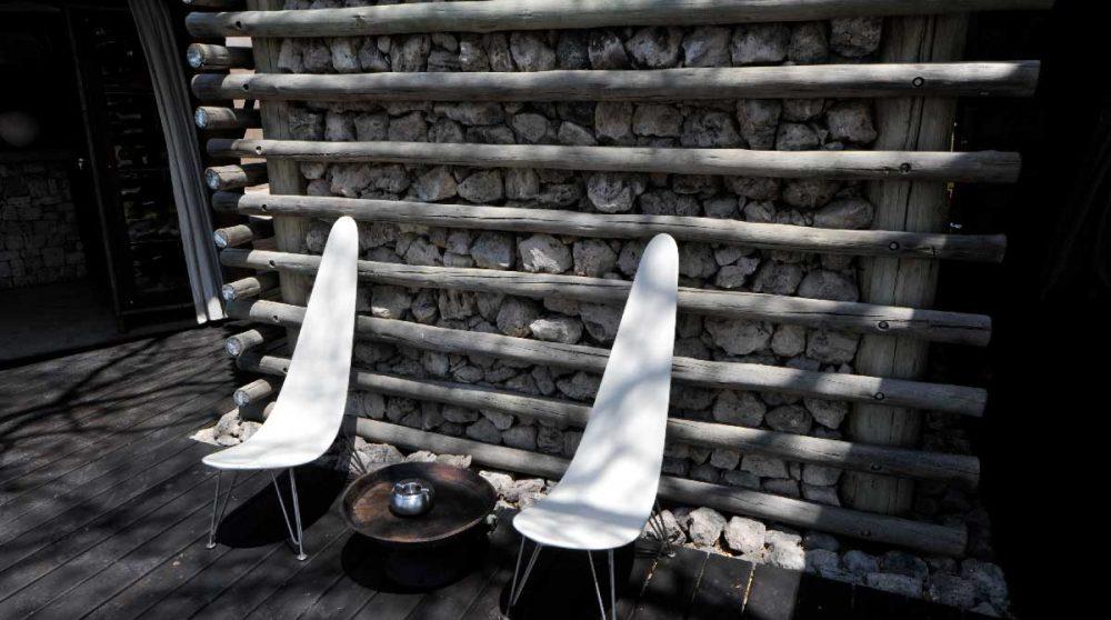 La terrasse à Etosha
