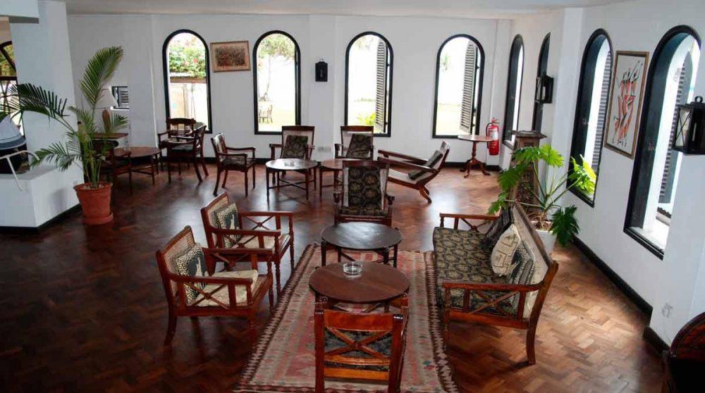 Un autre salon de l'hôtel à Mombasa