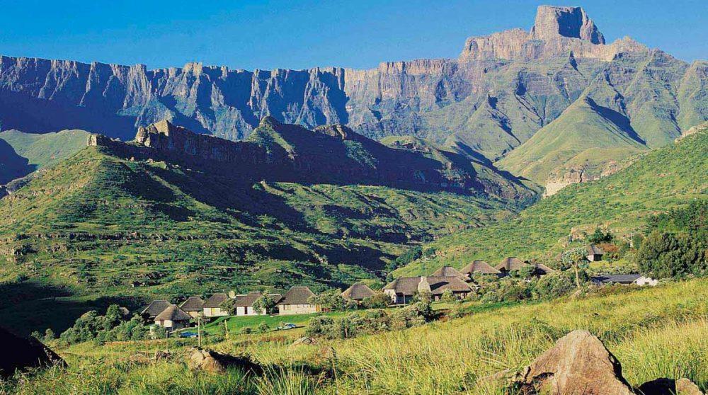 L'Amphithéâtre dans le Drakensberg