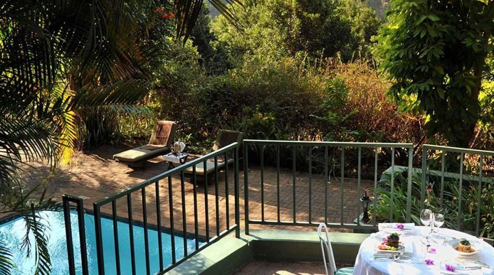 La piscine privative d'une Executive Suite