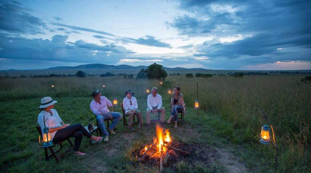 Rencontres autour du feu de camp