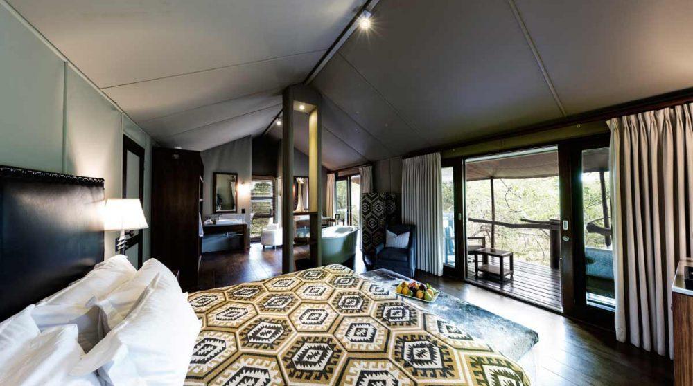 La chambre en Afrique du Sud