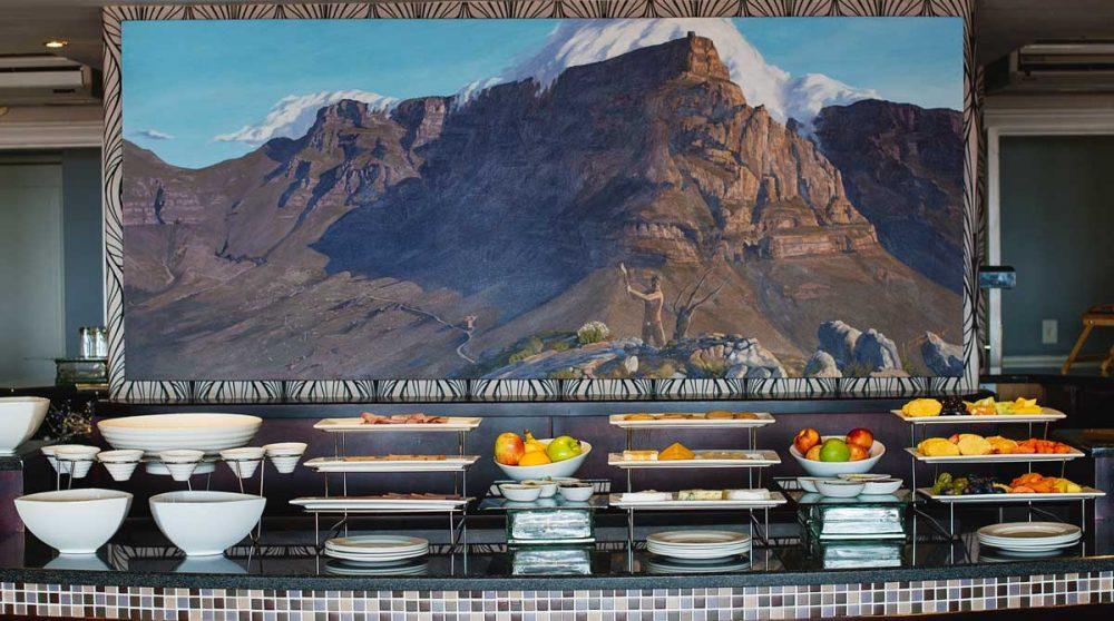 Le buffet en Afrique du Sud