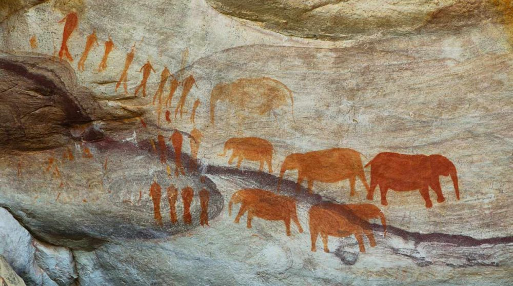 Les peintures rupestres du Cederberg