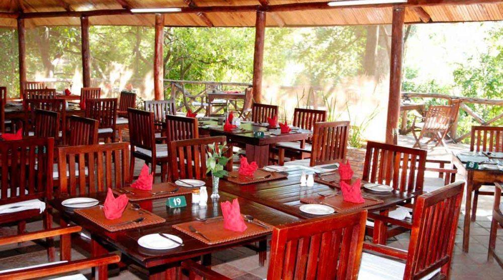 Le restaurant du Fig Tree Camp