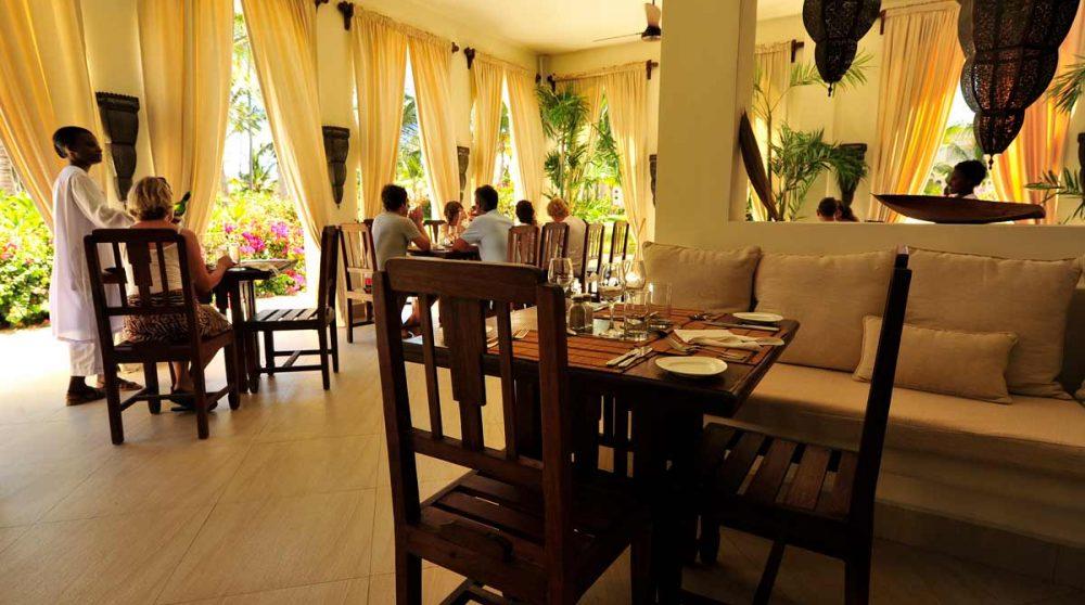 Le restaurant du Baraza