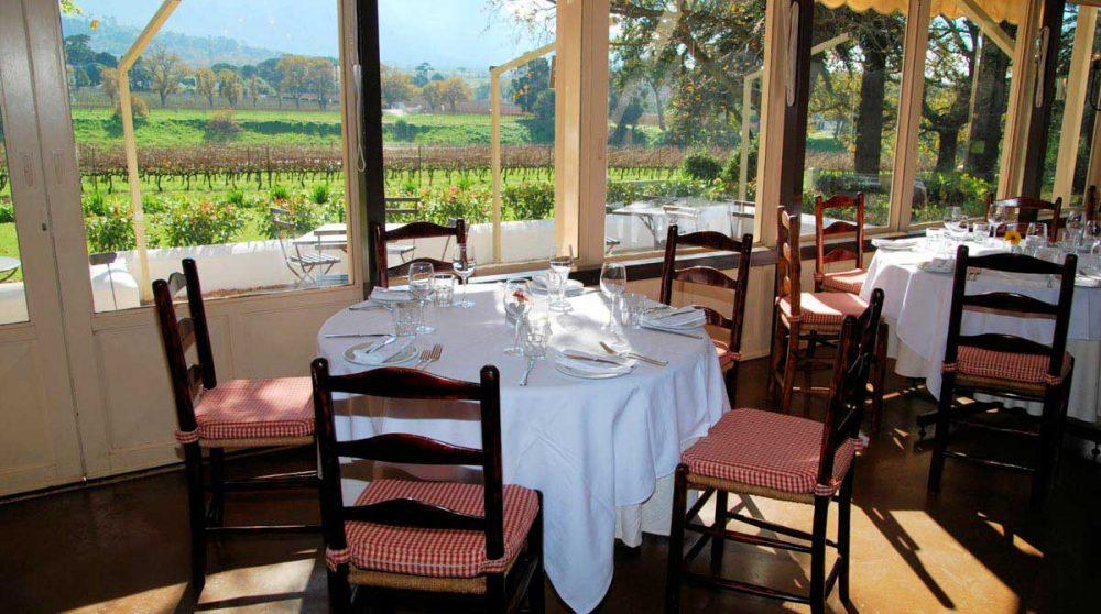 Restaurant de l'hôtel Constantia Uitsig