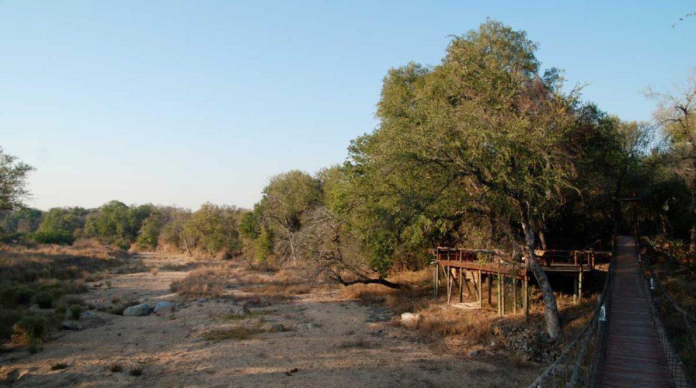 Le Dulini Lodge donne sur une réserve