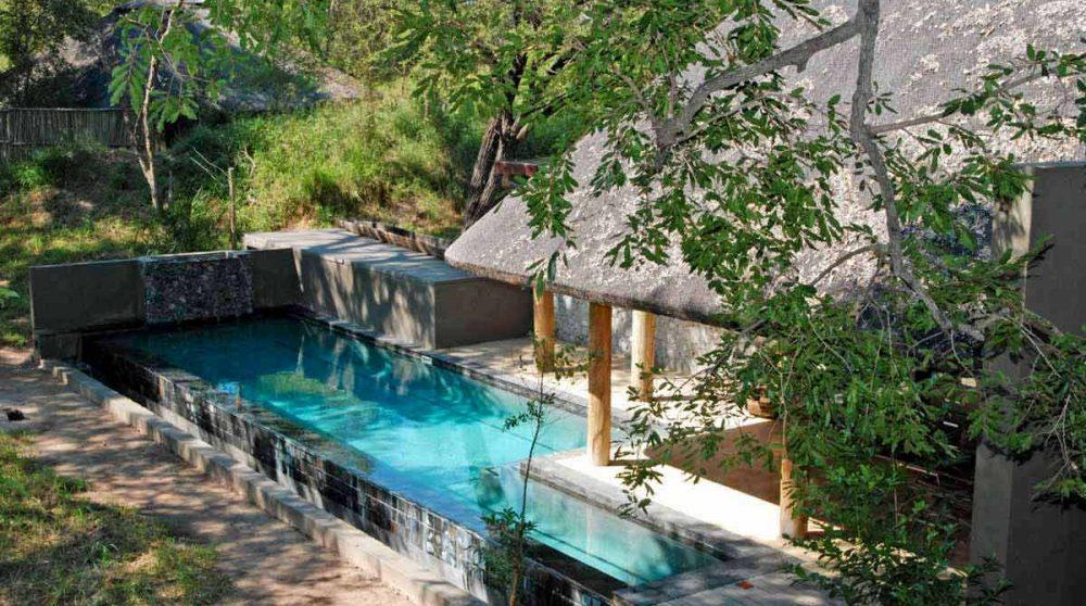 La piscine de l'Exeter Leadwood