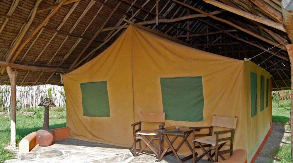 Une tente du Flamingo Hill Camp