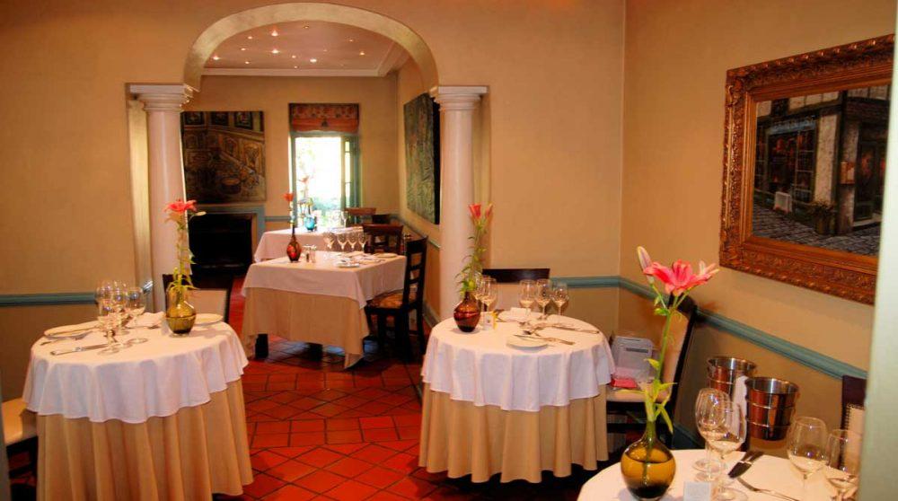 Restaurant du Franschhoek Contry House