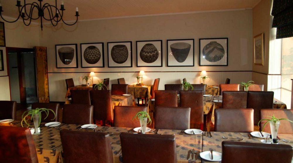 Autre vue du restaurant au Graskop Hotel