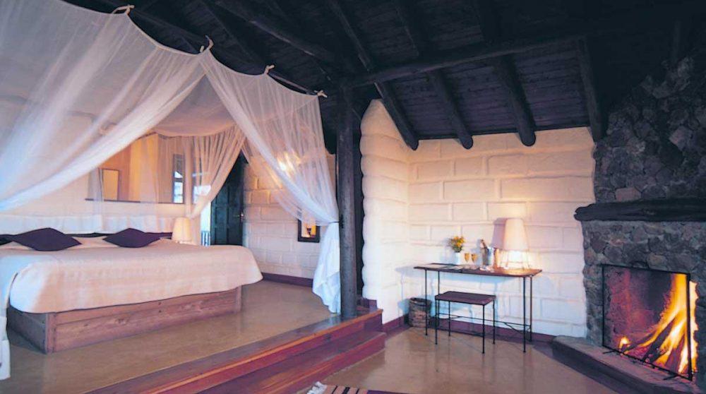 L'intérieur d'une chambre au Great Rift Valley Lodge