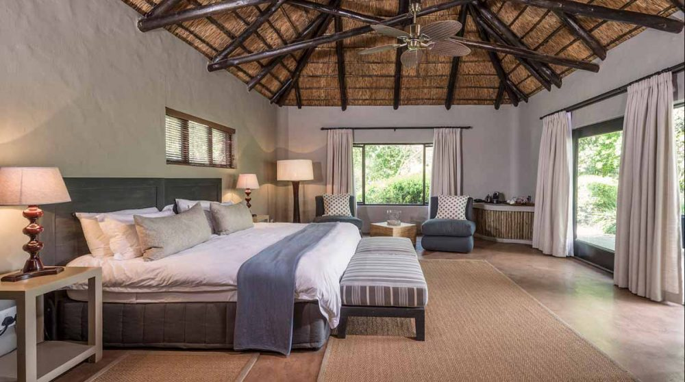 L'intérieur du Kariega River Lodge