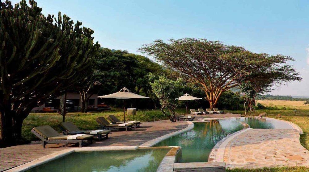 La piscine du Kichwa Tembo