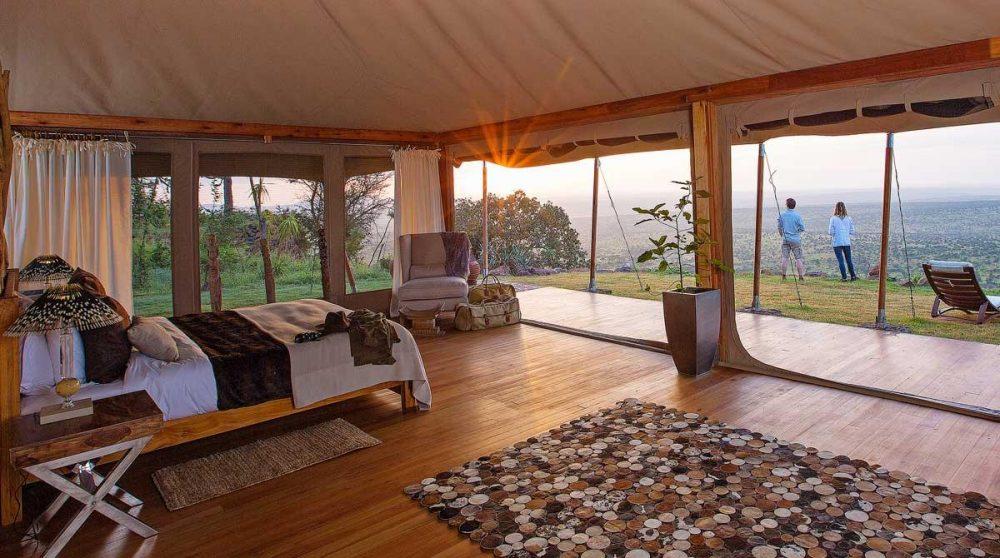 Une tente à Loisaba