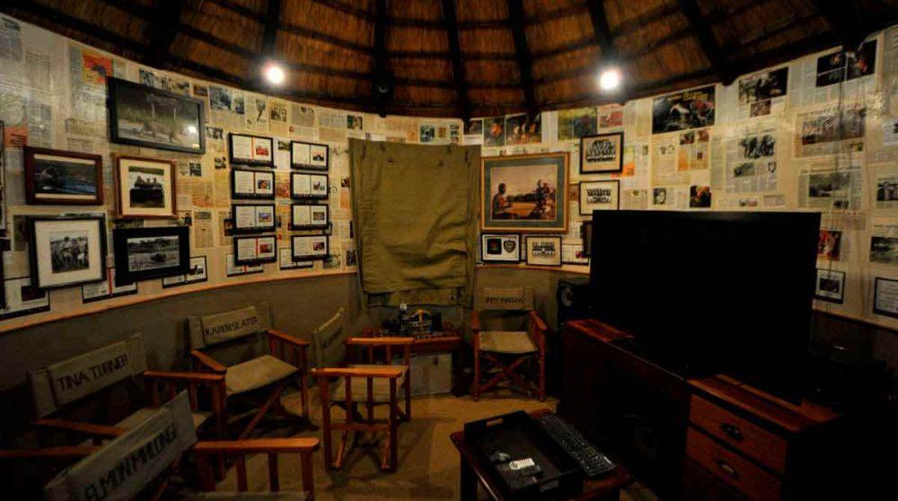 Une salle du Londolozi Varty Camp