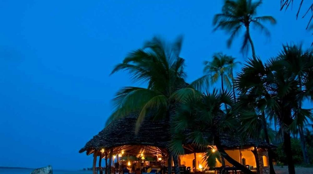 Une soirée au Manda Bay