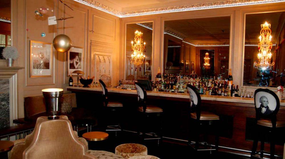 Le bar du Mount Nelson