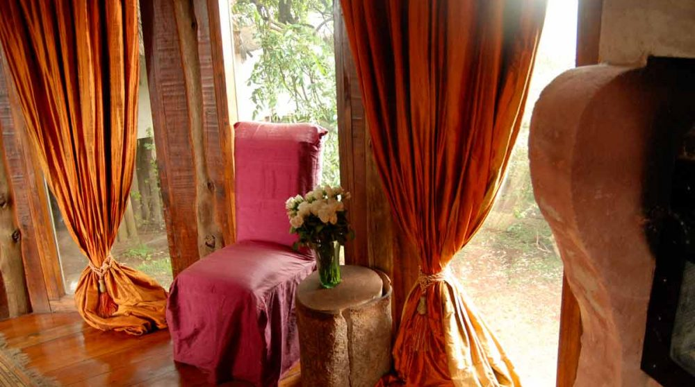 Salon au Ngorongoro Cratère Lodge