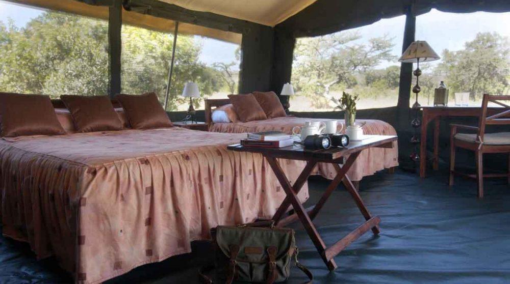 Chambre au Porini Rhino Camp