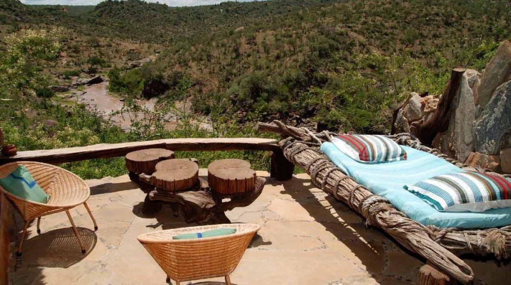 La terrasse du Sabuk