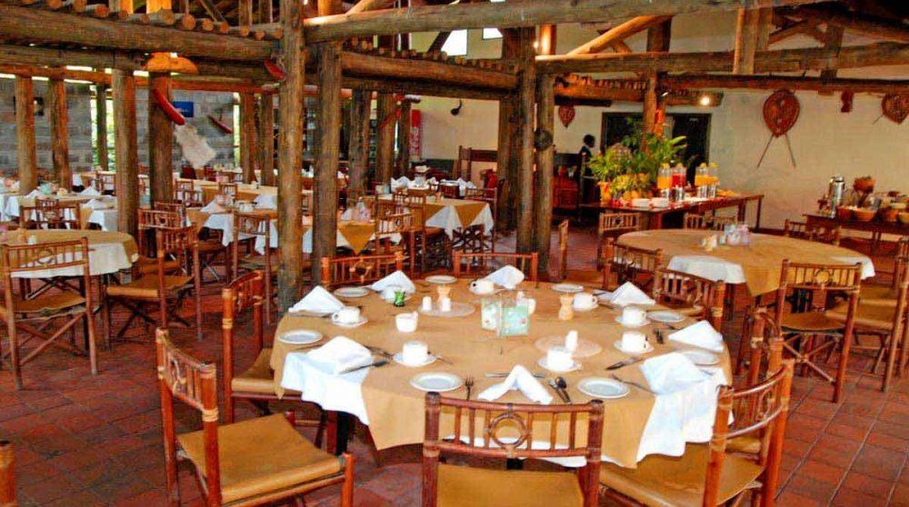 Le restaurant du Sarova Lion Hill Lodge