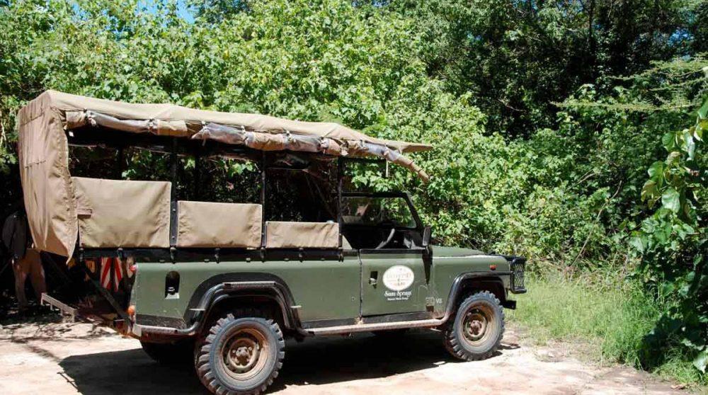 Une voiture du Siana Springs