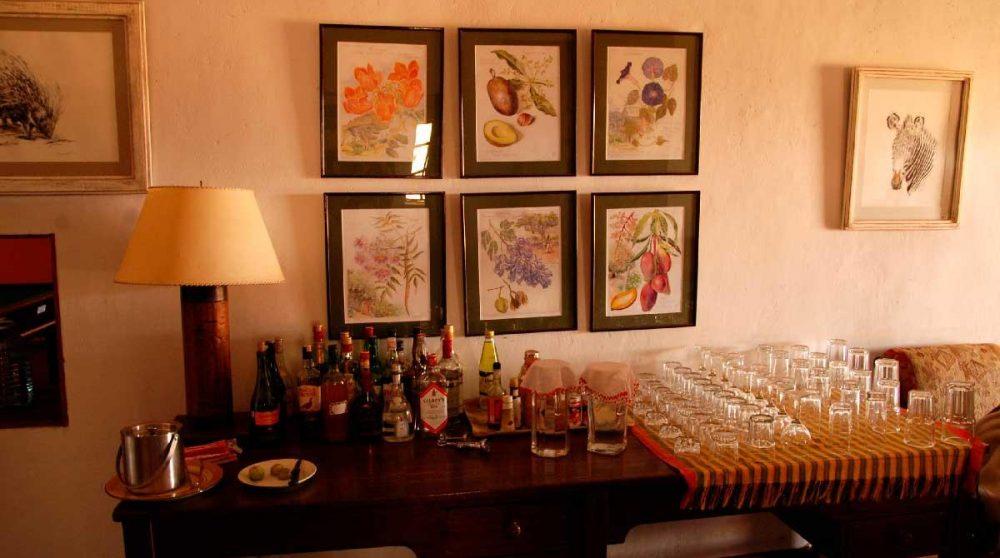 Le buffet-bar du Sosian