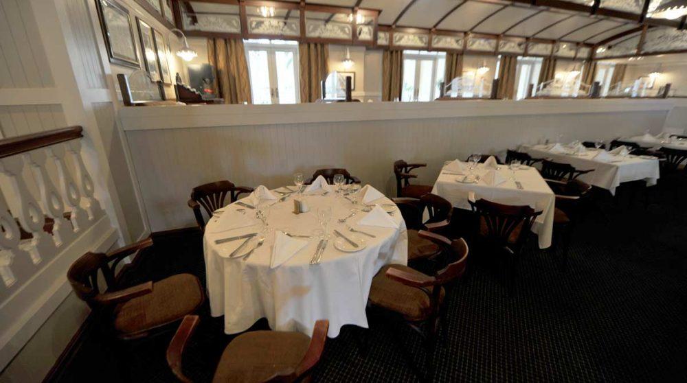 Le restaurant du Swakopmund Hotel