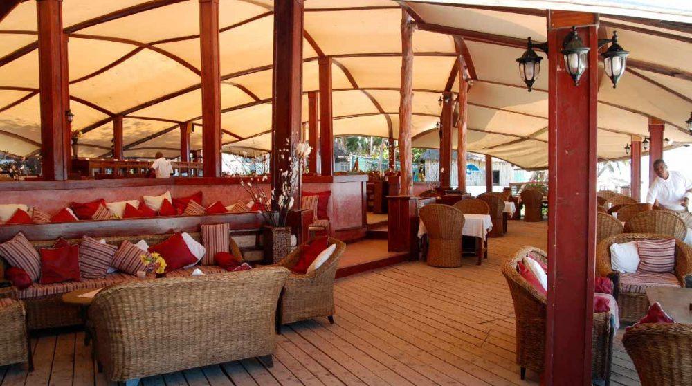 La terrasse au Sands at Nomad