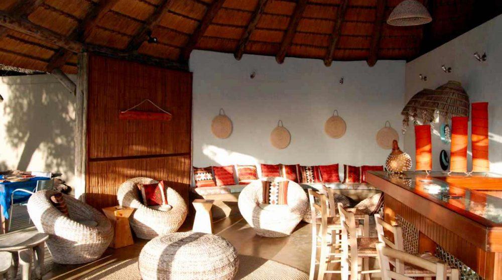 Le lounge du Thonga Beach Lodge