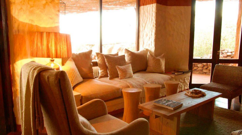 L'espace salon de Tswalu