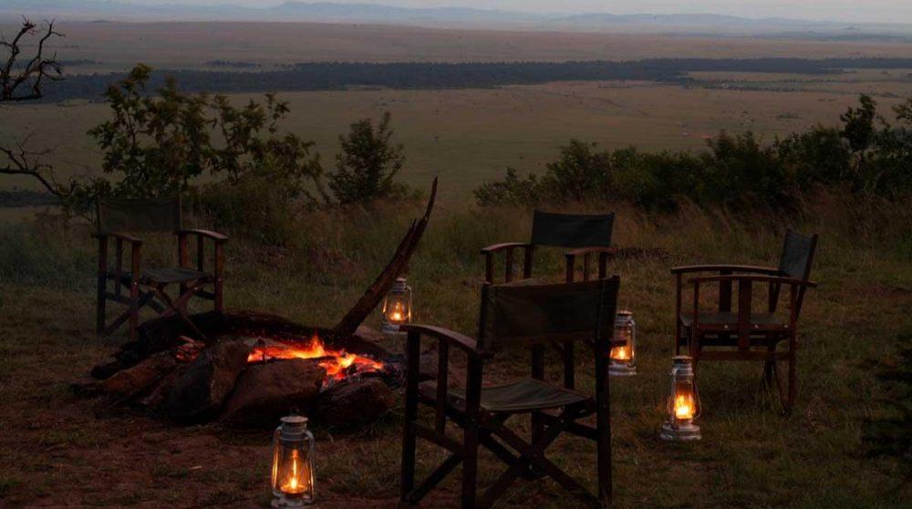 Soirée dans la nature au Kenya