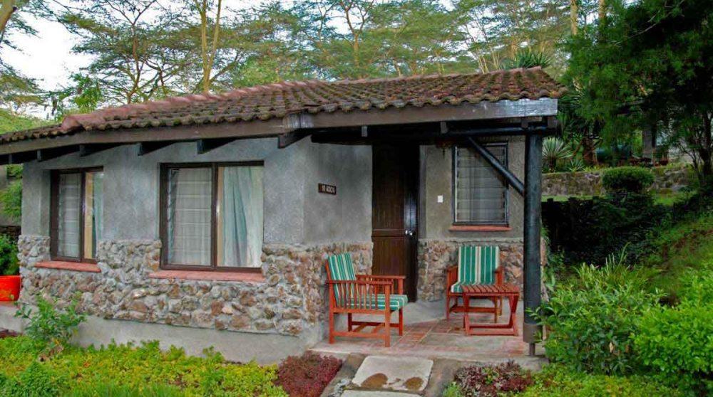 Extérieur d'une chambre au Kenya
