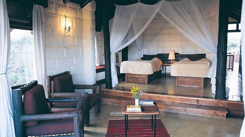Autre vue d'une chambre au Kenya