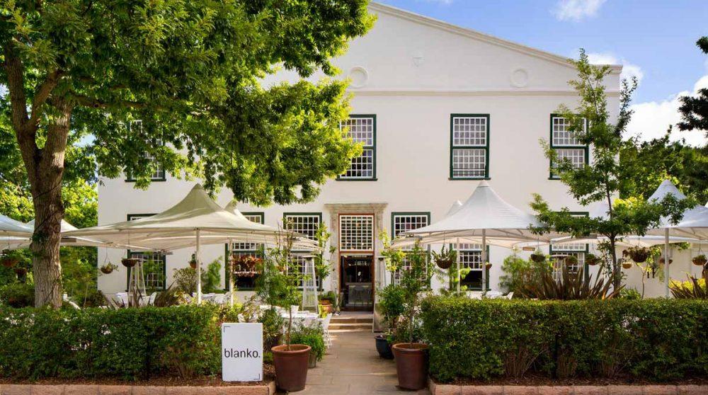 Le restaurant Blanko à Cape Town