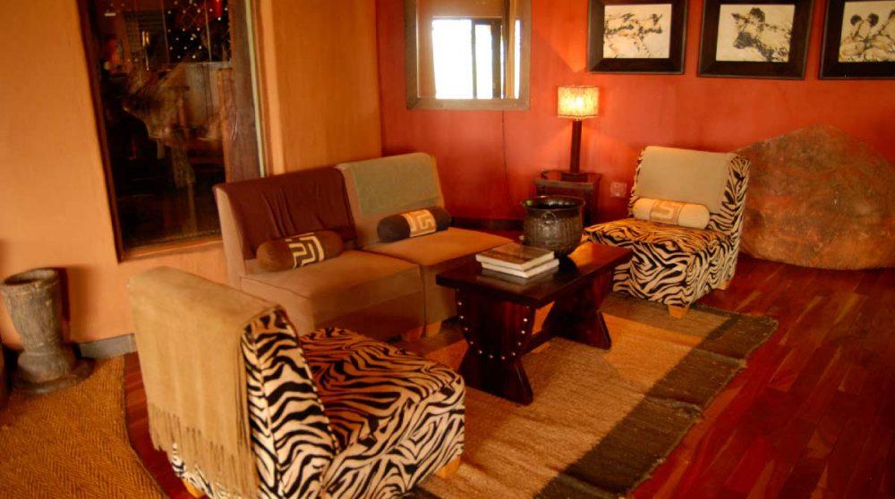 Un autre salon en Afrique du Sud