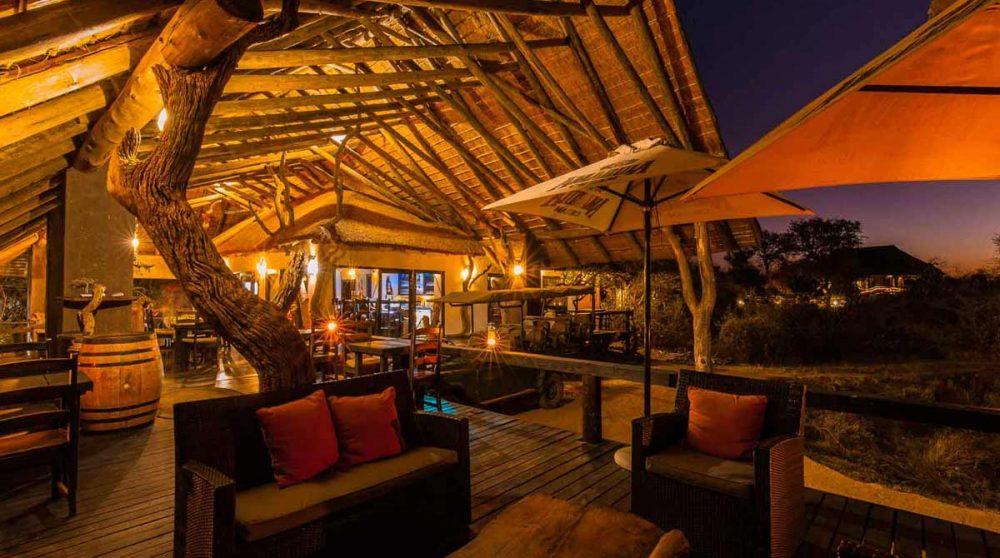 La grande terrasse en Afrique du Sud
