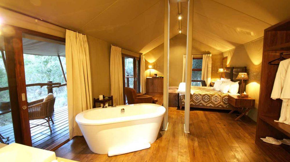 La baignoire et la chambre