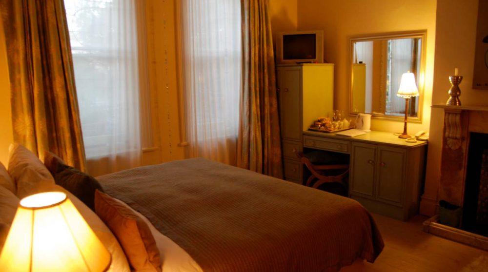 Une chambre de l'hôtel en Afrique du Sud