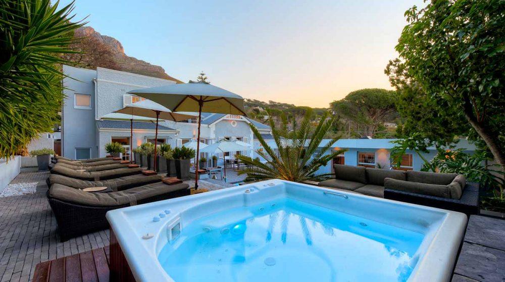 Un bain à remous en Afrique du Sud