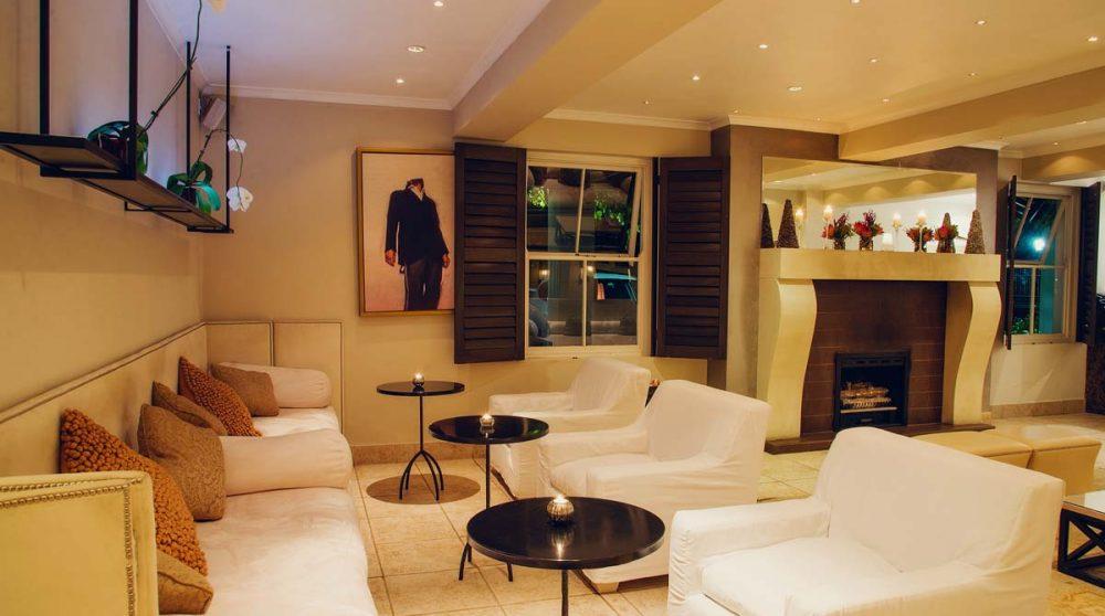Espace lounge en Afrique du Sud