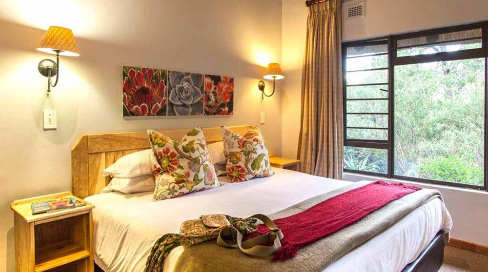 Le lit dans le Drakensberg