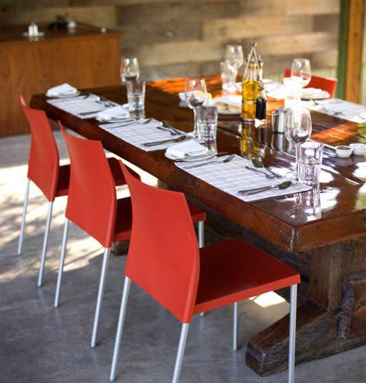 Autre vue de la salle à manger en Afrique du Sud