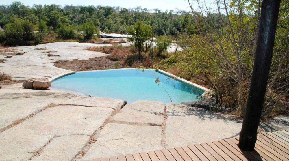 La piscine près du parc Kruger
