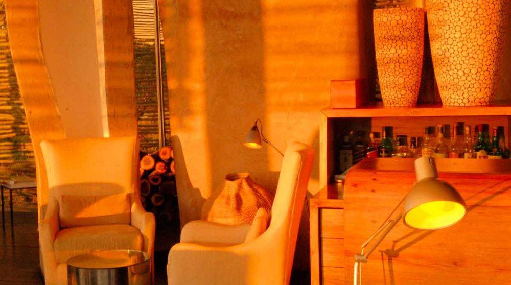 Fauteuils de l'hôtel en Afrique du Sud