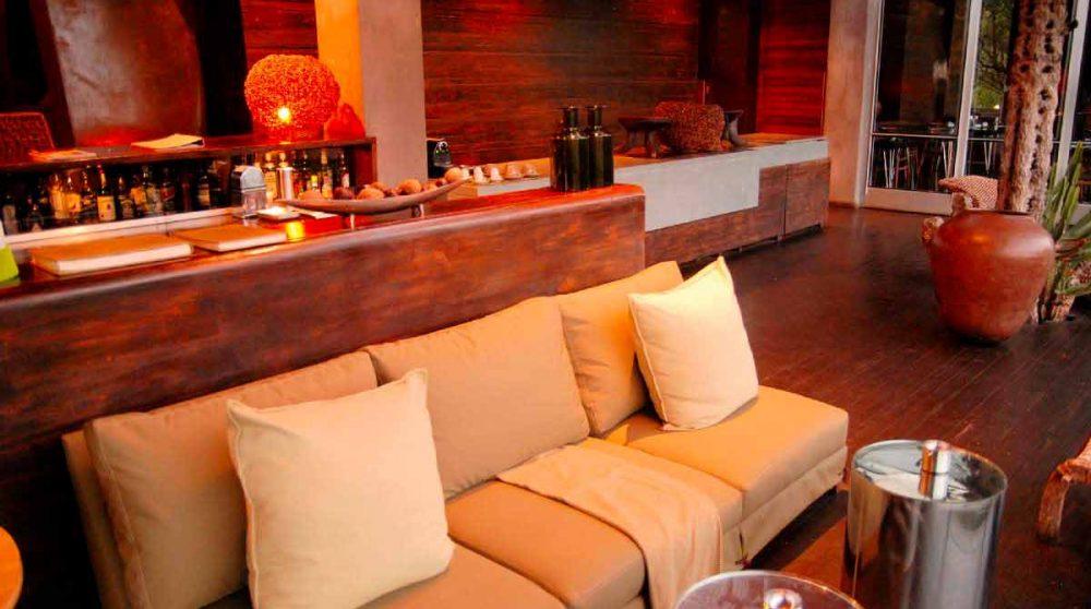 Espace lounge au parc Kruger