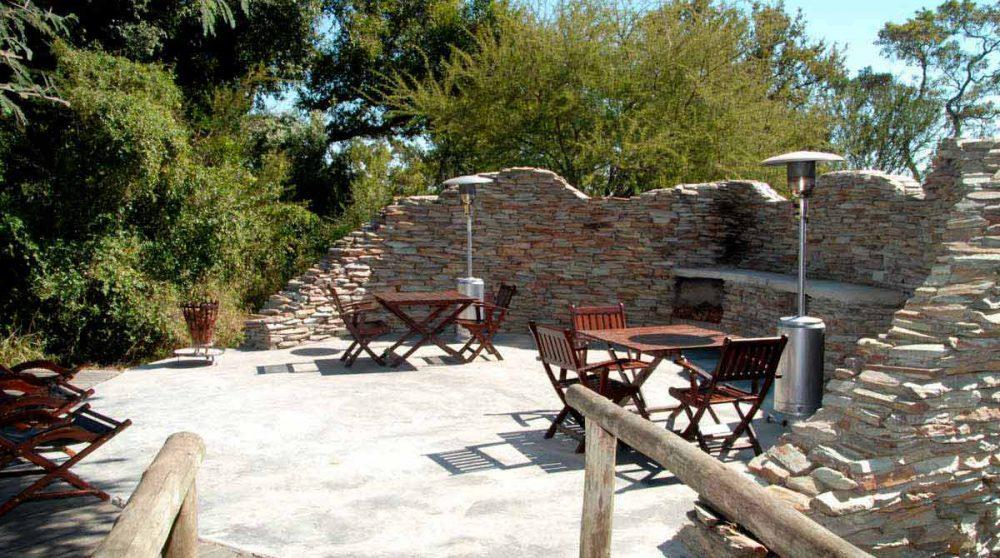 La terrasse à Manyeleti