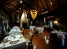 Le restaurant le soir près du parc Kruger